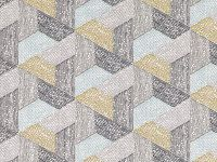 Romo Fabrics & Wallcoverings - Escher Multi Teak Fabric SAMPLE ONLY
