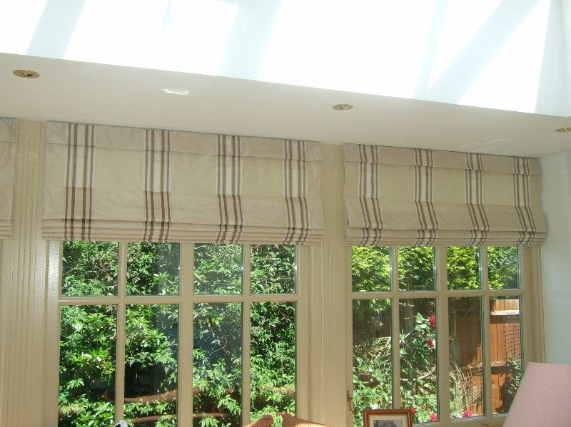 roman blinds sun rooms