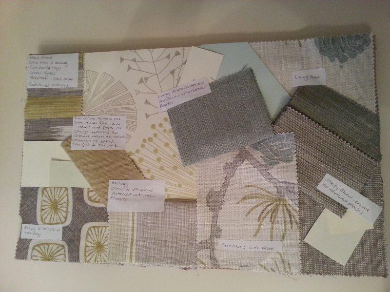 fabric colourscheming