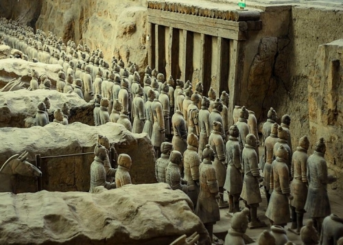 E18.05.31 - 31st May - China's First Emperor & Terracota Warriors