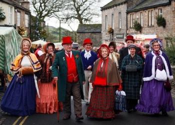 E18.12.01 - 1st December - Grassington Dickensian Festival & Skipton