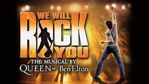 T20.01.29 We Will Rock You  29th January 2020 2.30pm show