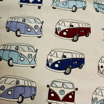 100% Camper Van Duck Cotton