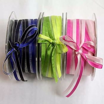 Satin Edge Shaded ribbon