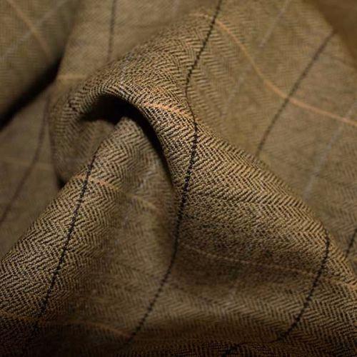100% Wool Check