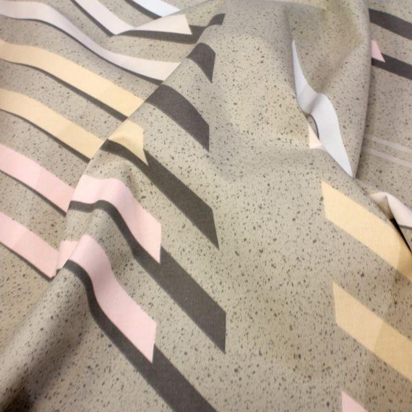 Beige Retro Fabric