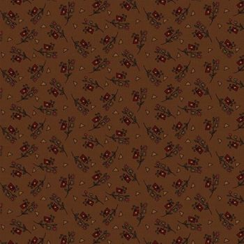 100% Cotton Colour Rust Pattern 112cm wide from