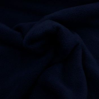 Dark Blue Polar Fleece - per half metre