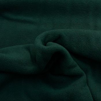 Dark Green Polar Fleece - per half metre