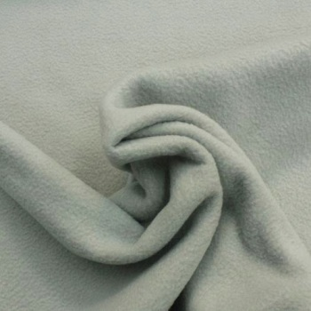Silver Grey Polar Fleece - per half metre