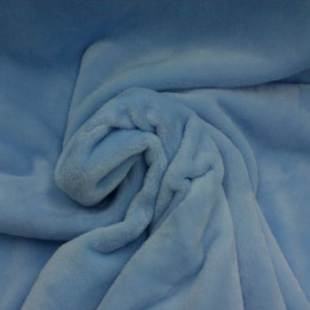 Baby Blue Cuddles Fleece  - Sold by the metre - from