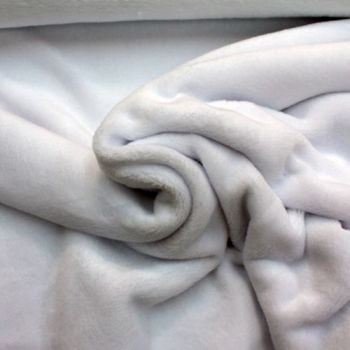 White Cuddles Fleece from
