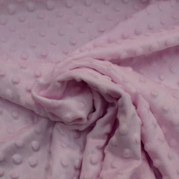 Pink Dimple Fleece