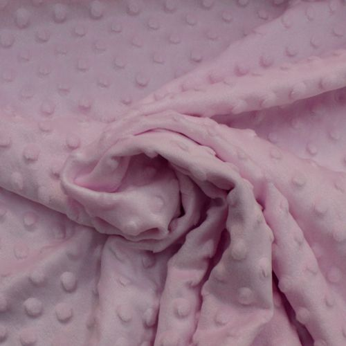 Pink Dimmple Fleece