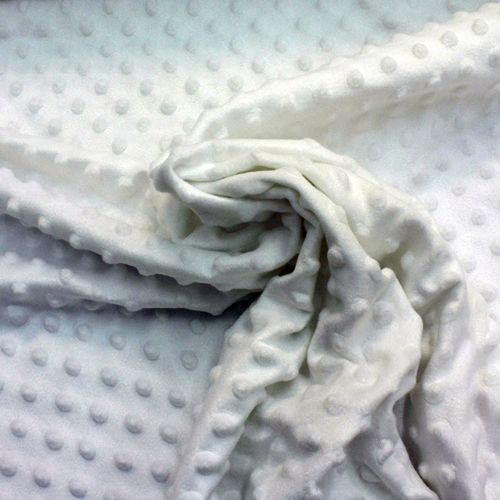 White Dimple Fleece from