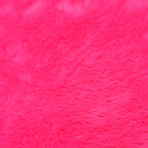 Pink Fur 150cm wide - Sold by the half metre - From