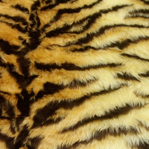 Tiger Print Fur 150cm wide - Sold by the 1/2 metre - From