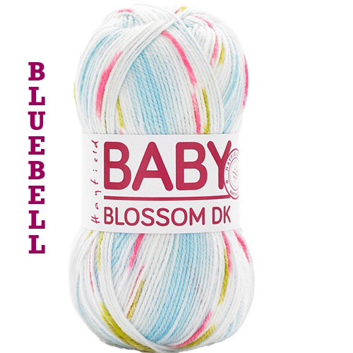 Baby Blossom - Sold in 100grm balls. CLICK ON IMAGE FOR MORE COLOURS