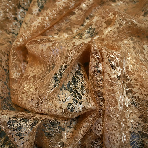 Gold Lace - Sold by the metre