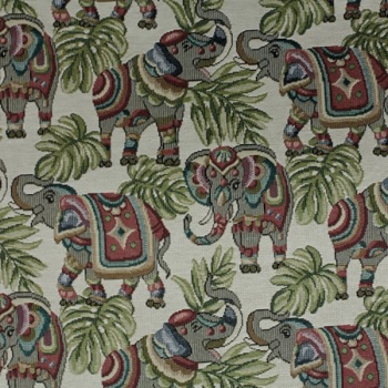 Indian Elephant - Craft Cotton - Sold by the half metre - from