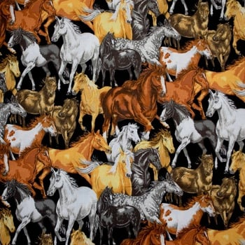 Novelty Fabric -In The Country