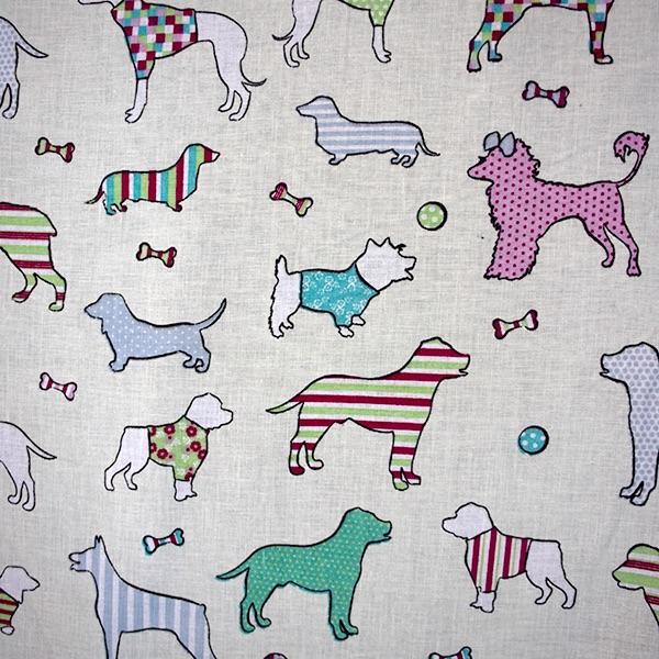 100% Cotton - Love my Dogs  - per metre