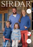 Sirdar 7983 Family pattern (PDF)