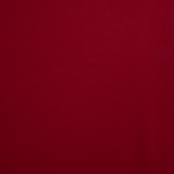 Triple Crepe Fabric - Red - Sold by the half metre