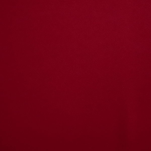 Triple Crepe Fabric - Red - per half metre