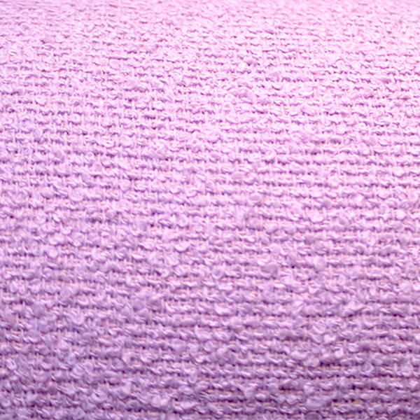 Pink Boulce Poly wool & Viscose per  metre