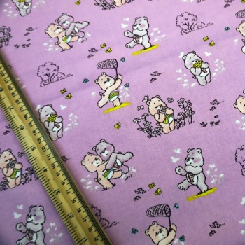 Care Bears - Pink - Sold by the half metre