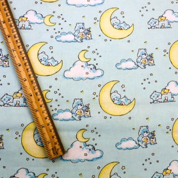 Care Bears - Blue -Sold by the half metre