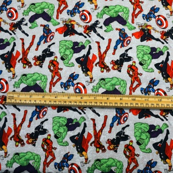Avengers - Characters - sold by the half metre