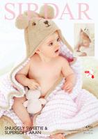 4710 -  Sweetie Hooded blanket - (PDF)