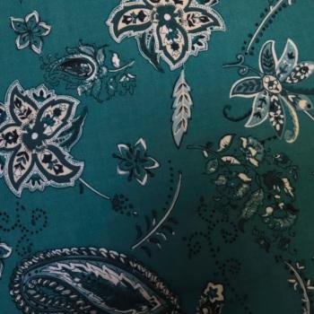 100% Tencel Lawn Print - per half metre