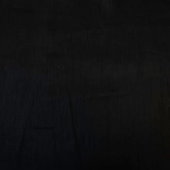 100% Black Linen - SPECIAL OFFER - When it's gone it's gone! -  per half metre