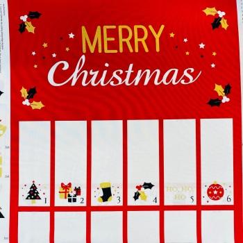 Festive Advent Calendar -per panel