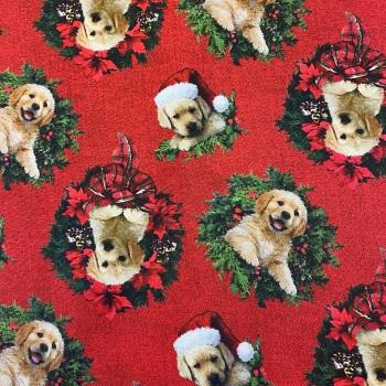 Christmas Labrador - per half metre