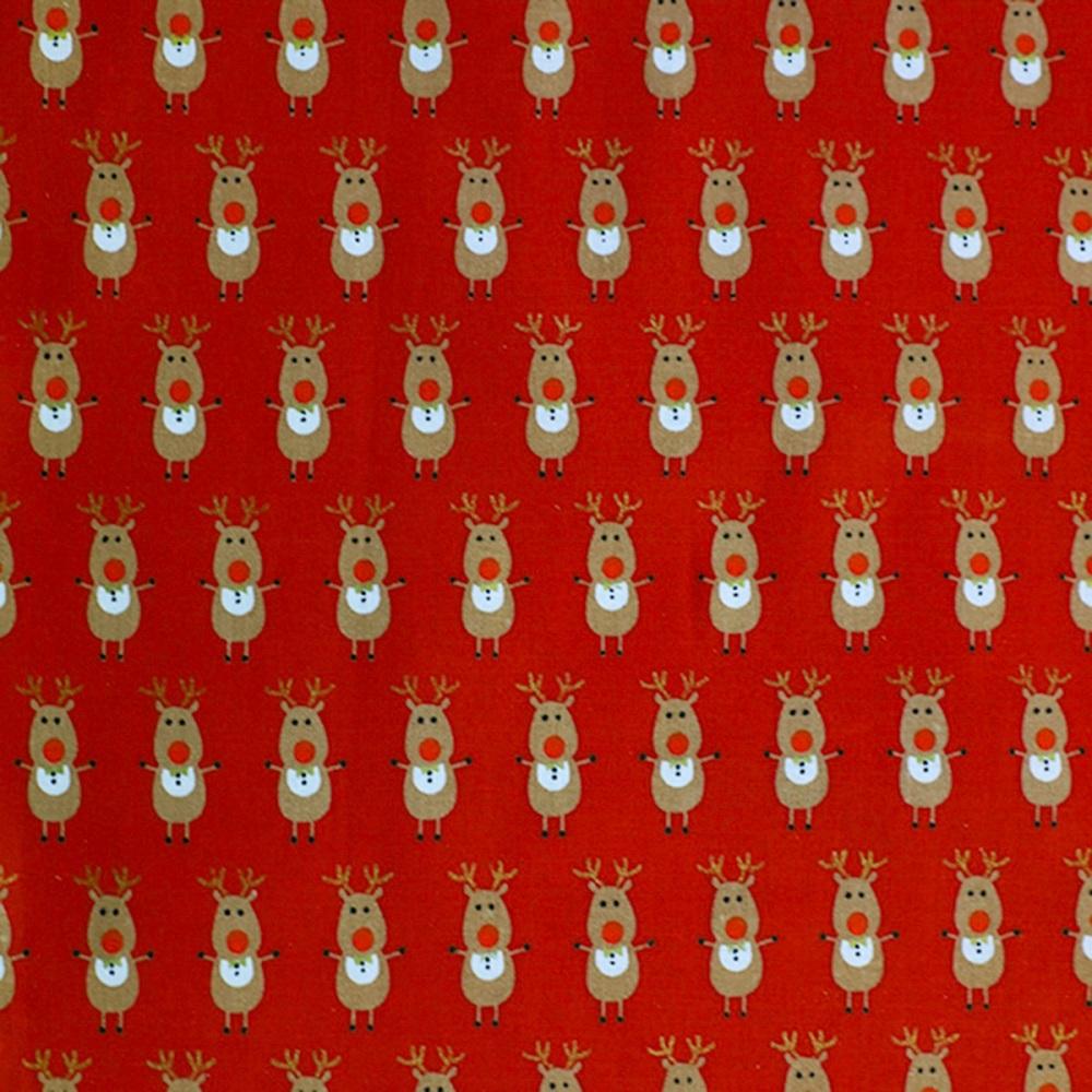 Reindeer Red - sold by half metre