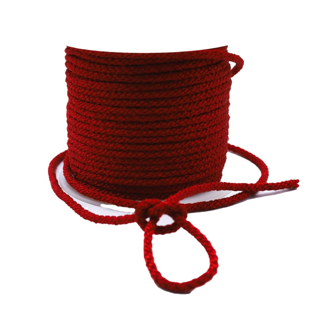 Red Twist Cord - Sold by the metre