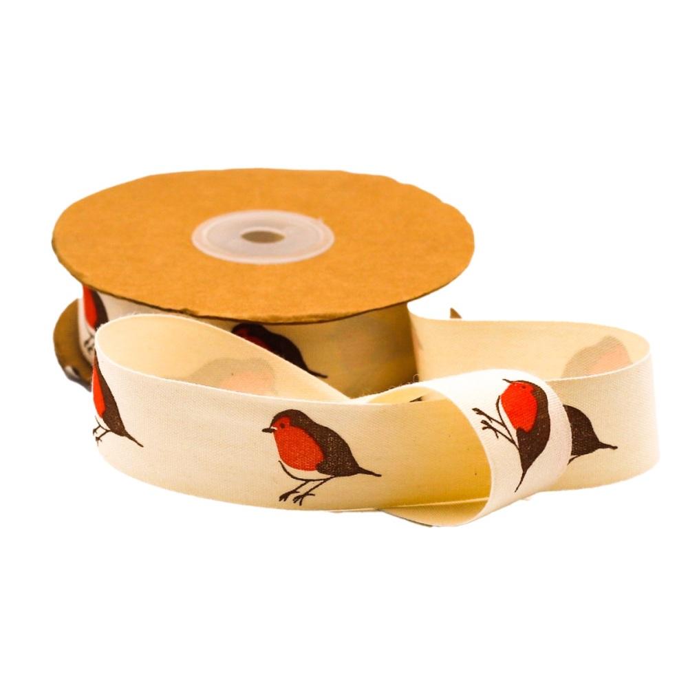 Robins on Cream - per metre