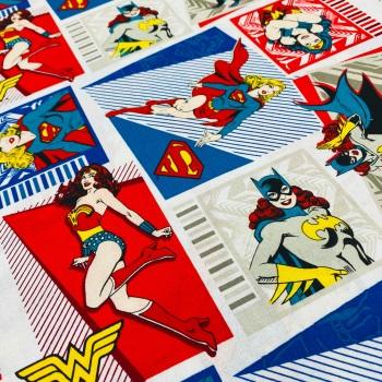 Wonder Woman/Batgirl/Superwoman Squares - Price Per Half Metre