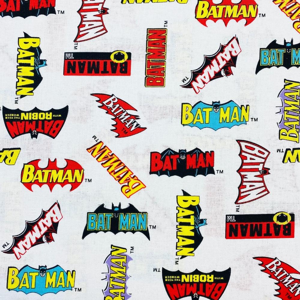 Batman Vintage Logo - Price Per 1/2 Metre