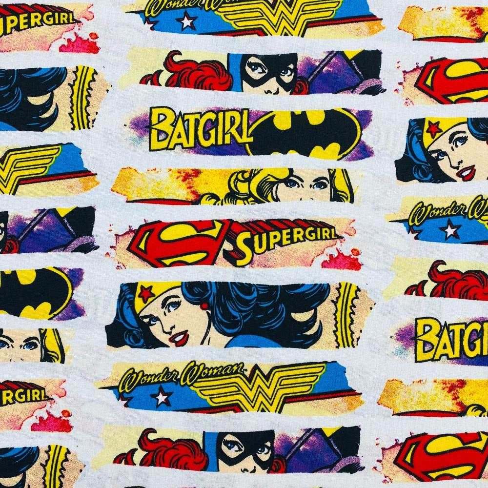 Wonder Womander Woman/Batgirl/Superwoman Dash - Price Per Half Metre