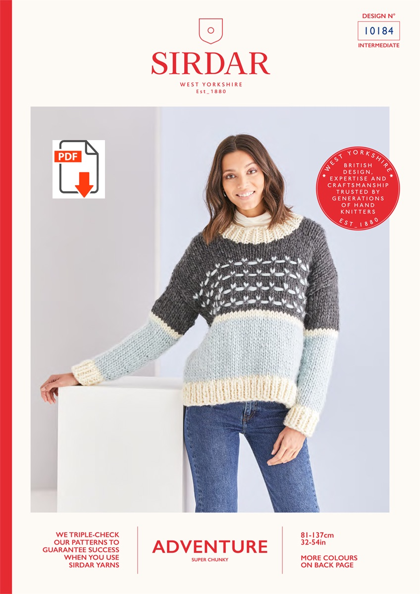 Jumper Pattern -  10184