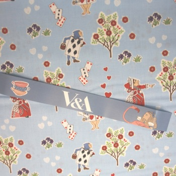 Alice in Wonderland - Queen of Hearts - per half metre