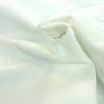 100% Acrylic Felt - White - per half metre