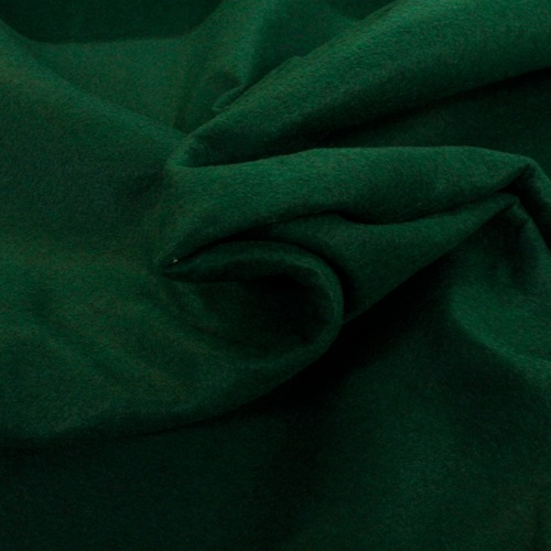 100% Acrylic Bottle Green Felt - per half metre