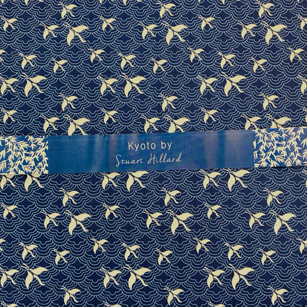 Kyoto Swallows - Sold By Half Metre