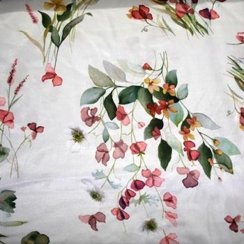 100% Floral Print - per metre
